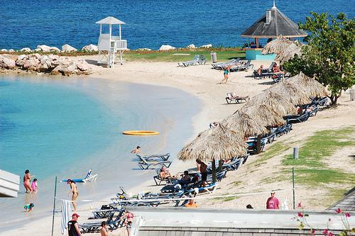 Sunset Resort Montego Bay Jamaica Beach Party